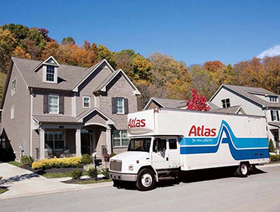 Small Atlas Moving Truck